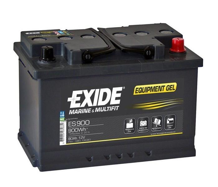 exide equipment gel batterie es 900 12v 80ah 900wh akku. Black Bedroom Furniture Sets. Home Design Ideas
