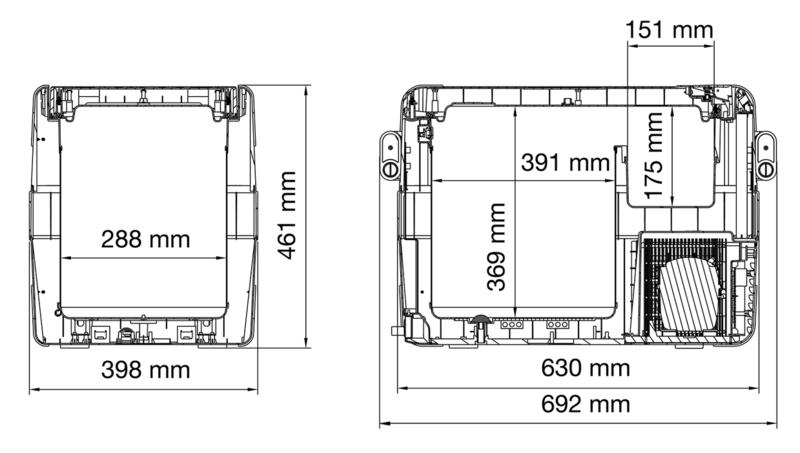 waeco kompressor k hlbox coolfreeze cfx 40 testsieger 8 2013. Black Bedroom Furniture Sets. Home Design Ideas