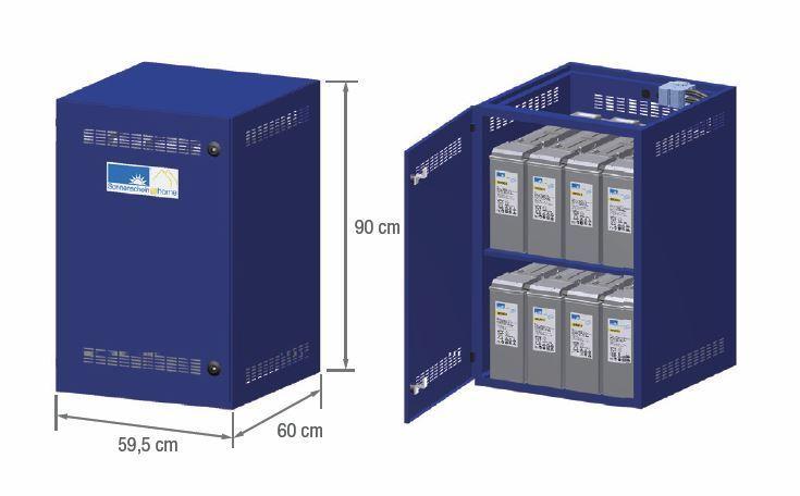solarstromspeicher sonnenschein home 48v 16 kwh batteriespeicher. Black Bedroom Furniture Sets. Home Design Ideas