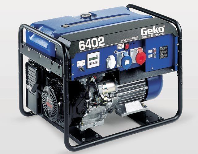 GEKO Stromerzeuger 6402 ED-AA/HHBA Benzin 6,1 kVA - Generator