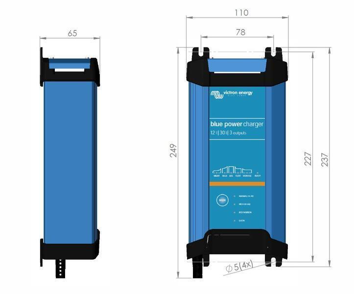 batterieladeger t 12v 20a victron blue smart ip22 12 20 3 bse